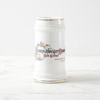 Cerveza Stein de Braunschweiger Mumme Taza