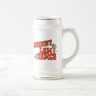 Cerveza Stein de Dawgs de la ley de Johnny Jarra De Cerveza