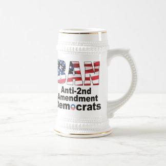 Cerveza Stein de Demócratas de la enmienda de la P Tazas