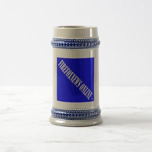 Cerveza Stein de FIREFOXNEWS ONLINE™ Tazas De Café