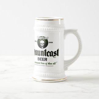 Cerveza Stein de Hauntcast Taza De Café