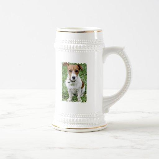 Cerveza Stein de Jack Russell Terrier Tazas De Café