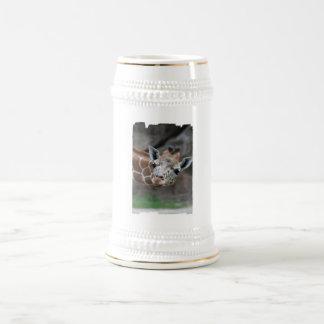 Cerveza Stein de la jirafa Jarra De Cerveza