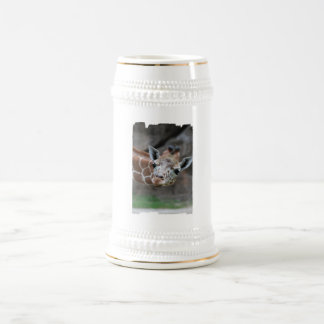 Cerveza Stein de la jirafa Taza De Café