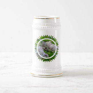 Cerveza Stein de la lila Taza De Café