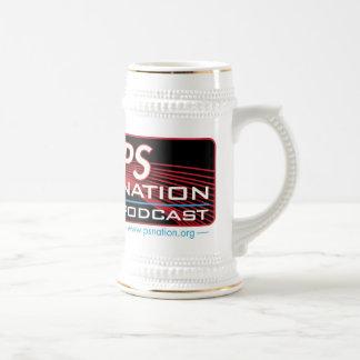 Cerveza Stein de la nación del picosegundo Taza