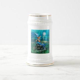 Cerveza Stein de la sirena Taza De Café
