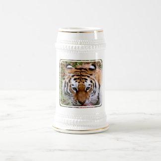 Cerveza Stein de las marcas del tigre Taza De Café