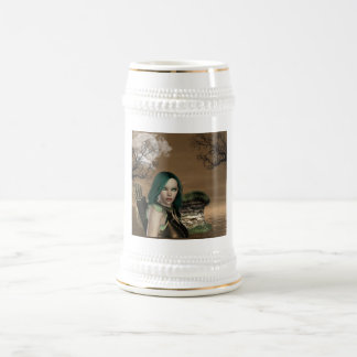 Cerveza Stein de los Archers de Elven Jarra De Cerveza