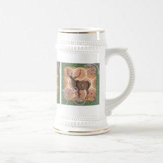 Cerveza Stein de los ciervos del dólar Jarra De Cerveza