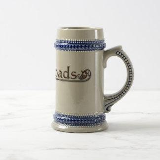 Cerveza Stein de los cruces Tazas De Café