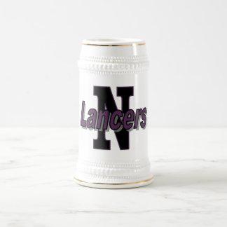 Cerveza Stein de los lanceros de Norton Jarra De Cerveza