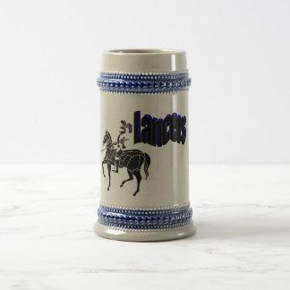Cerveza Stein de los lanceros Taza De Café