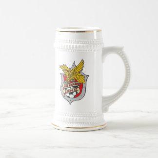 Cerveza Stein de los locos del Los Halcones Jarra De Cerveza