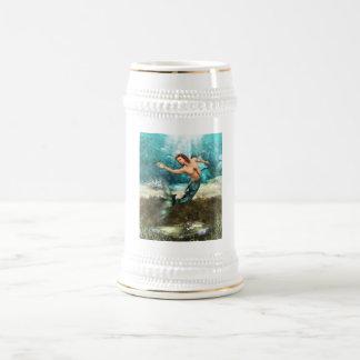 Cerveza Stein de los Mermen Jarra De Cerveza