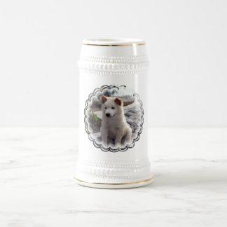 Cerveza Stein de los perritos del perro chino Taza De Café