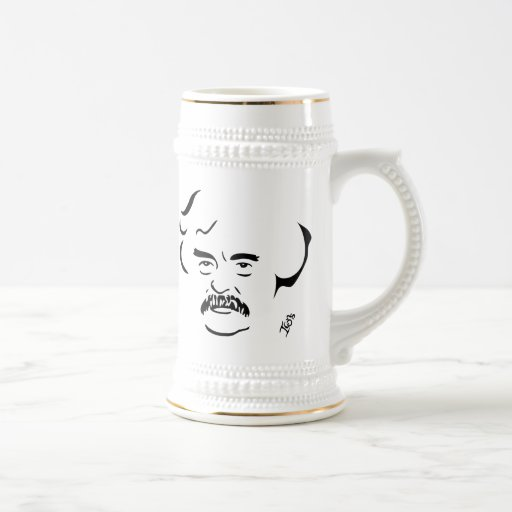 Cerveza Stein de Mark Twain Taza