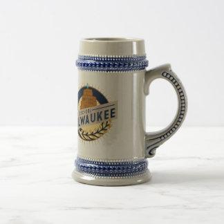 Cerveza Stein de Milwaukee Taza De Café