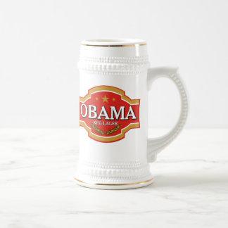 Cerveza Stein de Obama Tazas De Café