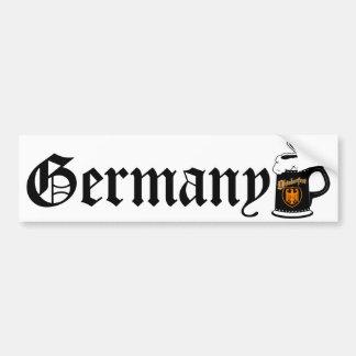 Cerveza Stein de Oktoberest Etiqueta De Parachoque