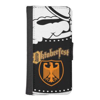 Cerveza Stein de Oktoberest Funda Tipo Billetera Para iPhone 5