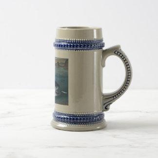 Cerveza Stein de rey salmón Tazas