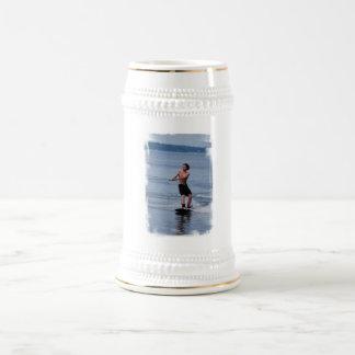 Cerveza Stein de Wakeboarding de la juventud Tazas De Café
