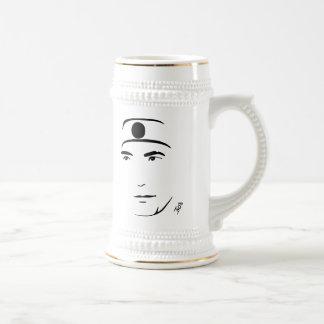 Cerveza Stein de Yukio Mishima Tazas