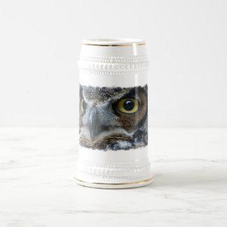 Cerveza Stein del búho Jarra De Cerveza