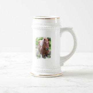 Cerveza Stein del caballo de proyecto Taza De Café