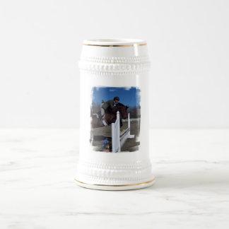 Cerveza Stein del caballo del puente del cazador Tazas