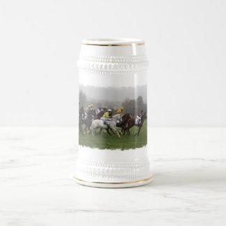 Cerveza Stein del campo del caballo de raza Jarra De Cerveza