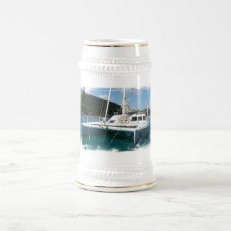 Cerveza Stein del catamarán Tazas