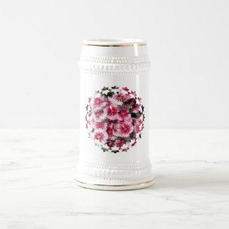 Cerveza Stein del clavel Tazas