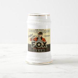 Cerveza Stein del Fox Jarra De Cerveza