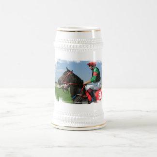 Cerveza Stein del jinete y del caballo Jarra De Cerveza