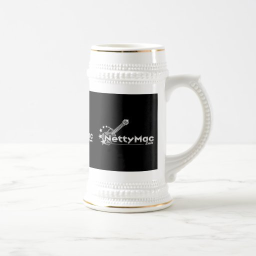 Cerveza Stein del mac de Netty Tazas De Café