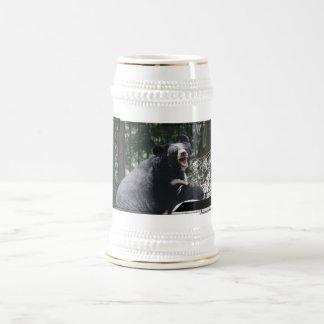 Cerveza Stein del oso el gruñir Taza