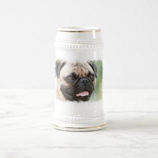 Cerveza Stein del perro del barro amasado Tazas