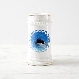 Cerveza Stein del sonido de la ballena Tazas De Café