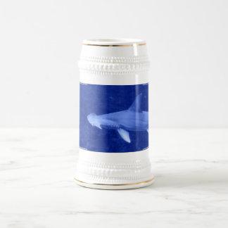 Cerveza Stein del tiburón de Hammerhead Jarra De Cerveza