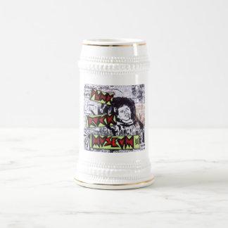 Cerveza Stein del tributo de Jesse Fixx del museo Jarra De Cerveza