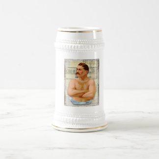 Cerveza Stein del trozo del caballero del vintage Jarra De Cerveza