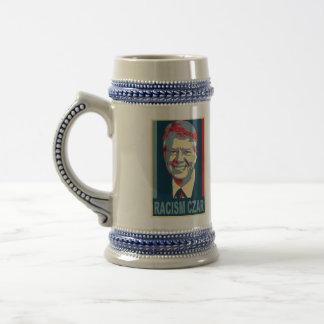 Cerveza Stein del zar del racismo de Jimmy Carter Jarra De Cerveza