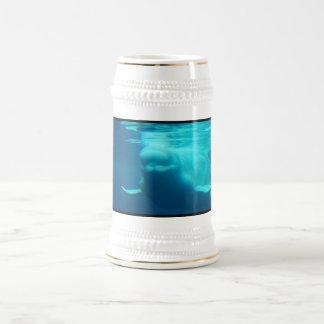 Cerveza subacuática Stein de la ballena de la belu Jarra De Cerveza