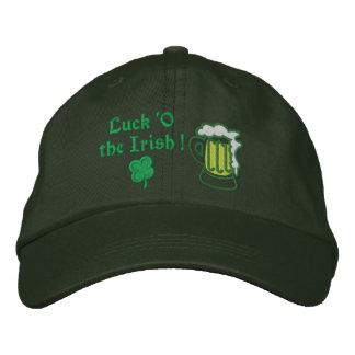 Cerveza Suerte O el irlandés Gorra De Béisbol