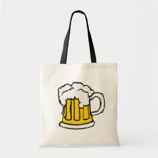 ¡Cerveza! Taza burbujeante espumosa de Brew