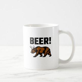 ¡Cerveza! Taza De Café