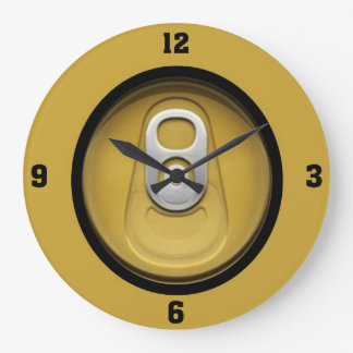 Cerveza treinta reloj de pared