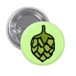 Cerveza verde de la planta de los saltos pins